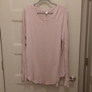 Blush pink tunic